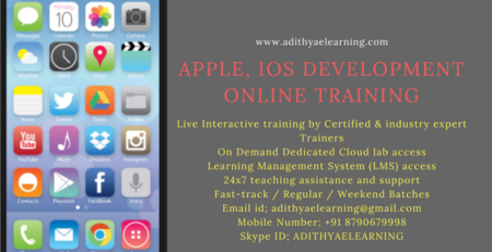 Apple, IOS Online Training from India